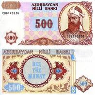 AZERBAIJAN - 500 MANAT – 1993 - UNC - Azerbaïjan