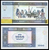 AZERBAIJAN – 1 000 MANAT – 2001 - UNC - Azerbaïjan