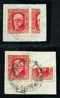 España Nº 734f (LOTE 2 Fragmentos) USADO - 1931-Today: 2nd Rep - ... Juan Carlos I