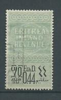 MARCA DA BOLLO/REVENUE  - ERITREA ETH.D.O,44 Bilingue - Erythrée