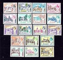 Bermuda 175-91 MNH 1962-65 Definitive Set - Bermuda