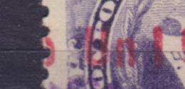 Guatemala 1899 Mi. 94  1c. Auf 5c. Staatswappen Steindruck Aufdruck Overprinted 1899 / UN 1 CENTAVO, ERROR Variety !! - Guatemala