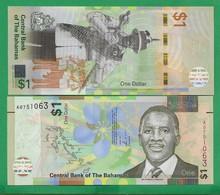 BAHAMAS - 1 DOLLAR - 2017 - UNC - Bahamas