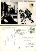 SVETOVNO IN EVROPSKO PRVENSTVO V HOKEJU NA LEDU 1966,SLOVENIA POSTCARD - Slovénie