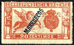 Marruecosnº 42 Con Charnela - Marruecos Español