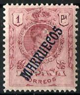 Marruecosnº 39 Con Charnela - Marruecos Español