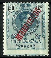 Marruecosnº 38 Con Charnela - Marruecos Español