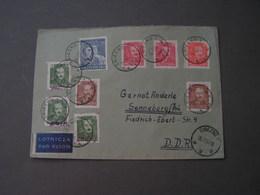 Polen Cv. 1951 Brezno And Two Stamps Still Groszy Overprint - 1944-.... Republik