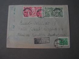 Polen Cv. 1951 R-Warszawa - Lettres & Documents