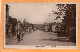 Stockbridge UK 1908 Real Photo Postcard - Angleterre