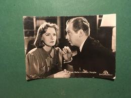 Cartolina Greta Garbo E Melwyn Douglas - 1960 Ca. - Cartoline