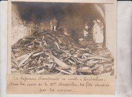 VIGNERONS CHAMPENOIS EN RÉVOLTE A HAUTVILLERS CAVES DE BOCQUILLON 18*13CM Maurice-Louis BRANGER PARÍS (1874-1950) - Lugares