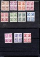 803893106 1966 OCB PRE769 TOT PRE779 POSTFRIS MINT  NEVER HINGED EINWANDFREI (XX) BLOKKEN VAN 4 - Roller Precancels 1930-..
