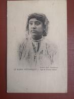 CPA - MAROC - LE MAROC PITTORESQUE - TYPE DE FEMME METISSE (h) - Marocco