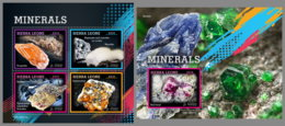 SIERRA LEONE 2019 MNH Minerals Mineralien Mineraux M/S+S/S - OFFICIAL ISSUE - DH1928 - Minerali