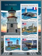 TOGO 2019 MNH Lighthouses Leuchttürme Phares M/S - OFFICIAL ISSUE - DH1928 - Faros