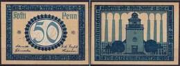 Schleswig-Holstein - Neumünster - 50 Pfennig 1920 Notgeld (ca198 - Germania