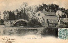 DOLE    Ruines Du Pont Romain - Dole