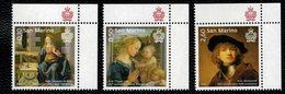 San Marino 2019 Art - Leonardo Da Viinci - Filippo Lippi - Rembrandt  3v Complete Set ** MNH - San Marino