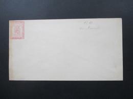 Finnland Um 1860 GA Umschlag U 13 10 K Ungebraucht! - Storia Postale