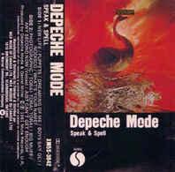 Depeche Mode- Speak & Spell - Audiokassetten