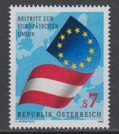 Austria 1995 Admission EU 1v ** Mnh (43633F) - Europese Gedachte