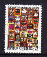 Austria 1993 Europarat Gipfelkonferenz Wien 1v ** Mnh (43633E) - Europese Gedachte