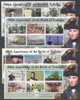 V883 SOLOMON ISLANDS SHIPS & BOATS WAR BATTLE OF TRAFALGAR FAMOUS PEOPLE !!! MICHEL 27 EURO !!! 4KB MNH - Boten