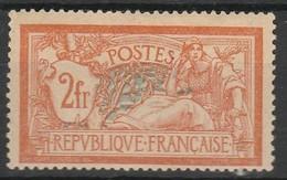 FRANCE TYPE MERSON 1907 YT N° 145 * - 1900-27 Merson