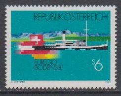 Austria 1993 Euregio Bodensee 1v ** Mnh (43633G) - Europese Gedachte