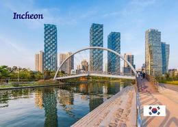 South Korea Incheon Overview New Postcard Südkorea AK - Korea (Süd)