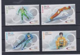 Germany 2002 Olympic Games  Salt Lake City 4 Stamps MNH/** (H56) - Winter 2002: Salt Lake City