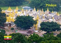 Myanmar Pindaya Aerial View Burma New Postcard - Myanmar (Burma)