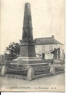 88 - Saint-Léonard - Le Monument - Autres Communes