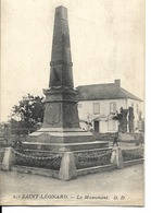 88 - Saint-Léonard - Le Monument - France