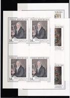 (K 4223) Tschechische Republik, KB 96/98** - Blocks & Kleinbögen