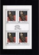 (K 4223) Tschechische Republik, KB 125** - Blocks & Sheetlets