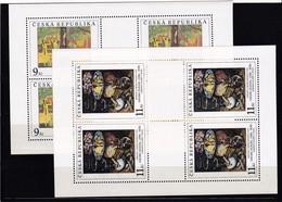 (K 4223) Tschechische Republik, KB 130/31** - Blocks & Kleinbögen