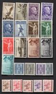 Colonies Italiennes : Collection, Lot De Plus De 240 Timbres Différents TOUS ETATS Neufs Ou Oblitérés - Italien