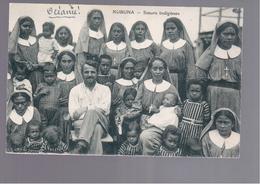 FIDJI  KUBUNA- Soeurs Indigenes OLD POSTCARD - Fidschi