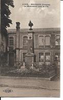 88 - Pouxeux - Le Monument Aux Morts - Pouxeux Eloyes