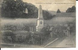 88 - Fontenoy-le-Château - Monument Aux Morts De La Guerre - Francia