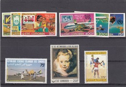 COMORES - LOT DE TIMBRES NEUFS / 1 - Isole Comore (1975-...)