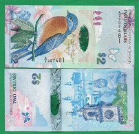 BERMUDA - 2 DOLLARS – 2009 - UNC - Bermudas