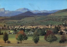 N°74772 GF -cpsm Mens -au Fond Et à Gauche Le Mont Aiguille- - Mens