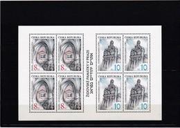 (K 4224) Tschechische Republik, KB 142/43** - Blocks & Sheetlets