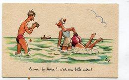 CPA  Illustrateur :   XAV  Plage La Belle Mère   A  VOIR  !!!!!! - Autres Illustrateurs