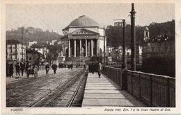 Torino - Ponte Vitt. Emanuele I E La Gran Madre Di Dio - Fp Nv - Bridges