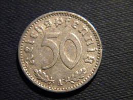 ALLEMAGNE - 50 REICHSPFENNIG 1941 A. - [ 4] 1933-1945 : Third Reich