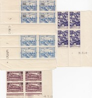 MAROC -  LOT BLOC DE 4 COIN DATE / 1 - Marokko (1956-...)